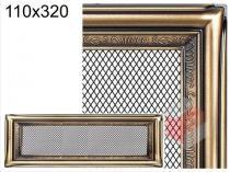Amstal - Krbová mřížka 11x32cm rustikální
