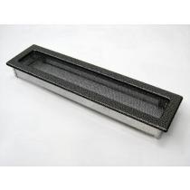 Amstal - Krbová mřížka 11x42cm černostříbrná