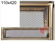 Amstal - Krbová mřížka 11x42cm rustikální