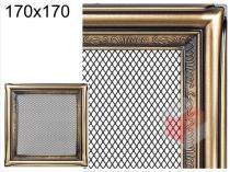 Amstal - Krbová mřížka 17x17cm rustikální