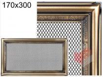 Amstal - Krbová mřížka 17x30cm rustikální