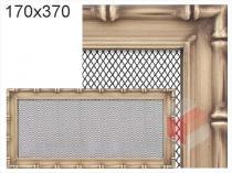 Amstal - Krbová mřížka 17x37cm Diana