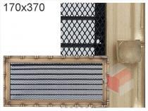 Amstal - Krbová mřížka 17x37cm Diana s žaluzií