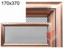 Amstal - Krbová mřížka 17x37cm Oskar měď