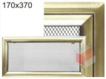 Amstal - Krbová mřížka 17x37cm Oskar zlato