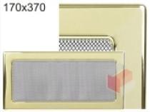 Kratki - Krbová mřížka 17x37cm pozlacená