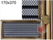 Amstal - Krbová mřížka 17x37cm rustikální s žaluzií