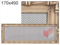 Amstal - Krbová mřížka 17x49cm Diana