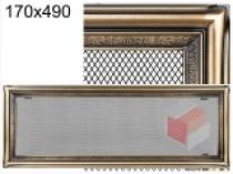 Amstal - Krbová mřížka 17x49cm rustikální