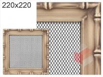 Amstal - Krbová mřížka 22x22cm Diana