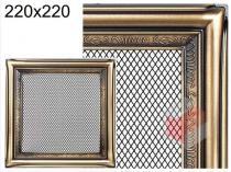 Amstal - Krbová mřížka 22x22cm rustikální