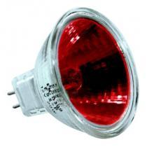 Halogenová žárovka 12V 20W GU5.3 - červená