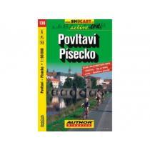 Shocart cyklomapa Povltaví, Písecko,136