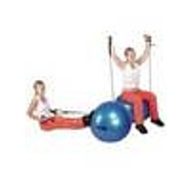 Insportline Gymnastický míč s úchyty 65 cm