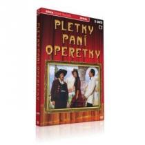 Pletky paní Operetky 3+2CD DVD