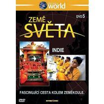 Země světa 5 - Indie DVD