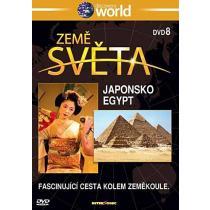Země světa 8 - Japonsko, Egypt DVD
