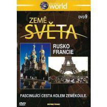 Země světa 9 - Rusko, Francie DVD