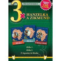 3x Hanzelka a Zikmund: Afrika 1 a 2 + Z Argentiny do Mexika DVD