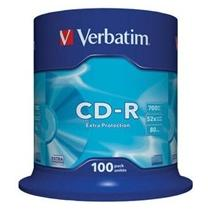 Verbatim CD-R, 52x, 100-spindle