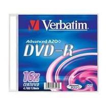 Verbatim DVD-R, 16x, 100-slim