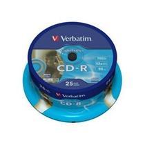 Verbatim CD-R, 52x, 25-spindle