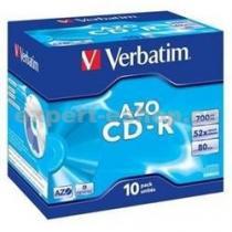 VERBATIM CD-R 700 MB jewel