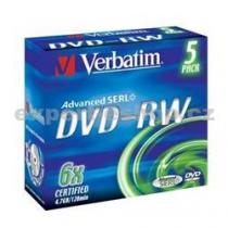 VERBATIM DVD-RW Jewel
