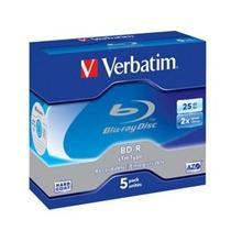 Verbatim BD-R(5-pack)Blu-RayLTH/Jewel/2x/25GB