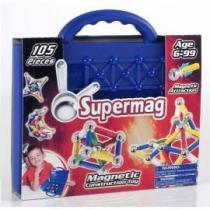 SUPERMAG Kufřík klasik 105 dílů