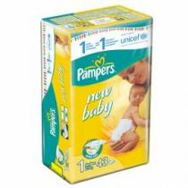 PAMPERS New baby Newborn 43ks