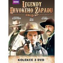 LEGENDY DIVOKÉHO ZÁPADU - 3 DVD