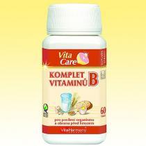 Naděje Komplet vitaminů B Forte, 60 tbl.