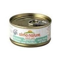 Almo Nature Cats konzerva pstruh+tuňák 70g