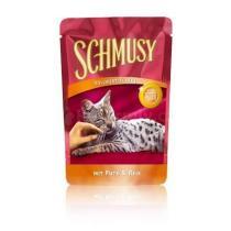 Schmusy Cat Flakes kapsa krůta+rýže 100g