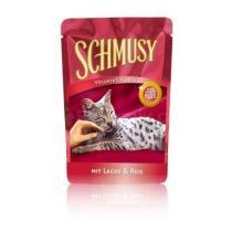 Schmusy Cat Flakes kapsa losos+rýže 100g