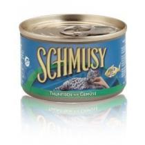 Schmusy Cat konzerva tuňák+zelenina 100g