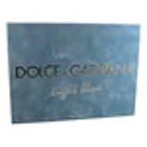 Dolce & Gabbana Light Blue pour Homme - dárková sada EdT 125 ml