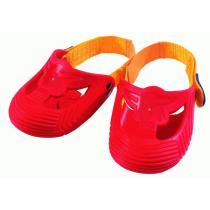 Ecoiffier BIG červené ochranné návleky na botičky