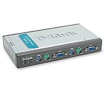 D-Link DKVM-4K Keyboard-Video-Mouse Switch, PS2, 4 KVM-PCs t