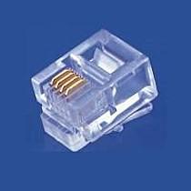 RJ11-6p4c-plochý kabel, licna, 100ks