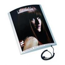 Světelný rám ARCUATO pro rozměr plakátu 594x1682mm (2xA1) - PLA594x1682