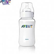 Avent Lahvička 330 ml + silikonový dudlík