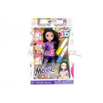 MGA Moxie Girlz Art titude + 3D brýle panenka Lexa