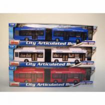 Alltoys Autobus městský kloubový