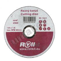 Umakov Q1/R01-125x1,6 Kotouč řezný