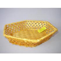 Bambusová miska šestihranná