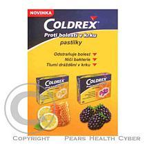Smithkline Coldrex Bolest v krku - citron a med (20 pastilek)