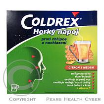 Smithkline Coldrex horký nápoj - citron s medem (10 sáčků)