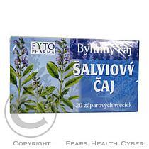Fytopharma Šalvějový čaj 20 x 1g